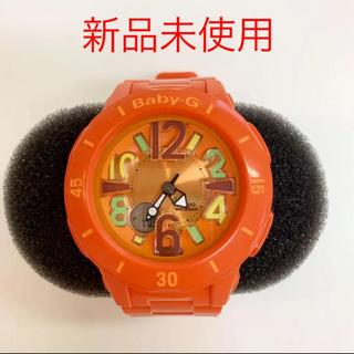 ベビージー(Baby-G)のBaby-G 腕時計 オレンジ 新品 保証書付 babyG(腕時計)
