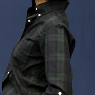 MADISONBLUE - 美品 マディソンブルー ロンハーマン別注 タータンチェックシャツ