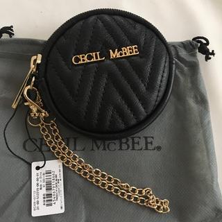 CECIL McBEE - 新品 セシルマクビー コインケース 小銭入れ ブラック 黒