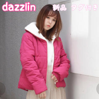 dazzlin - dazzlin ボアブルゾン ピンク アウター