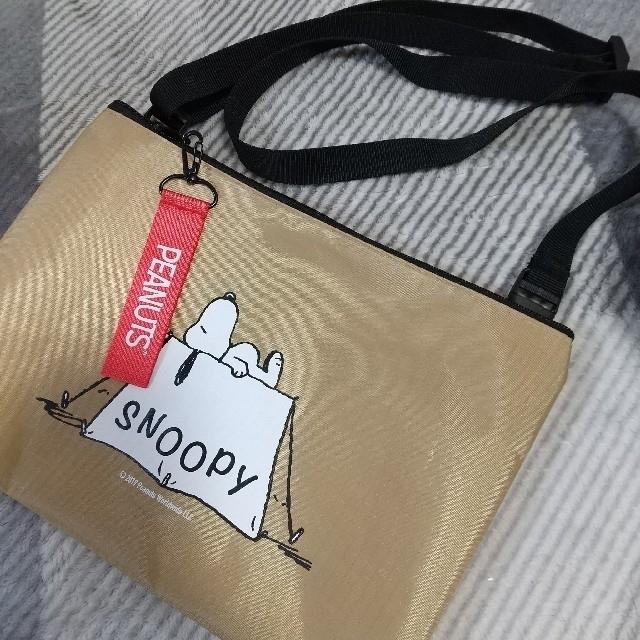 SNOOPY(スヌーピー)のスヌーピー  サコッシュ エンタメ/ホビーのおもちゃ/ぬいぐるみ(キャラクターグッズ)の商品写真