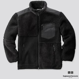 Engineered Garments - 黒 M フリースコンビネーションジャケット ユニクロ エンジニアドガーメンツ