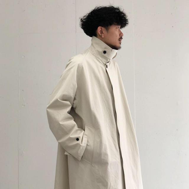 SUNSEA(サンシー)のURU 19ss balmacaan coat 1 メンズのジャケット/アウター(ステンカラーコート)の商品写真