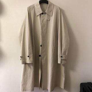 SUNSEA - URU 19ss balmacaan coat 1