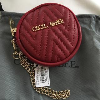 CECIL McBEE - 新品 セシルマクビー コインケース 小銭入れ レッド 赤