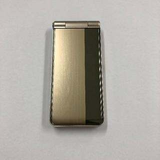 パナソニック(Panasonic)のdocomo P-01G ゴールド(スマートフォン本体)