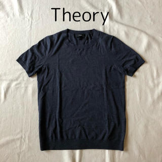 theory - 2016s/s Theory 人気★定番 コットンニット 半袖