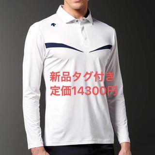デサント(DESCENTE)のO 新品 デサント メンズ ゴルフシャツ 長袖ポロシャツ 長袖シャツ(ウエア)