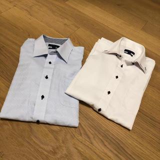 タカキュー(TAKA-Q)のノンアイロン、タカキューメンズ ワイシャツ 長袖×2枚、新生活、卒業式、社会人(その他)