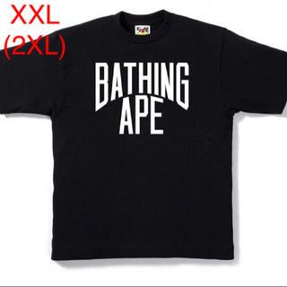 アベイシングエイプ(A BATHING APE)のBAPE BICOLOR NYC LOGO TEE(Tシャツ/カットソー(半袖/袖なし))