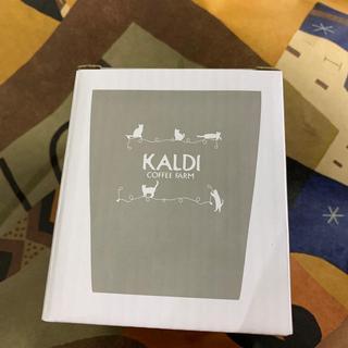 カルディ(KALDI)のカルディ★ステンレスタンブラー!ネコの日バック限定品(タンブラー)