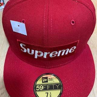 Supreme - supreme  new era  boxlogo キャップ M