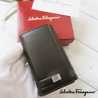 Salvatore Ferragamo - 美品❤サルヴァトーレフェラガモ♡フェラガモ♥キーケース✨黒♡箱付き❤ 21