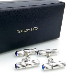 ティファニー(Tiffany & Co.)の希少 美品 ヴィンテージ ティファニー ラピスラズリ カフス EA47(カフリンクス)