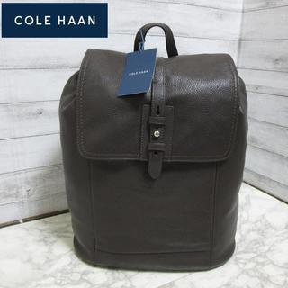 Cole Haan - 新品 コールハーン メンズ本革 レザーリュックサック チョコレートブラウン