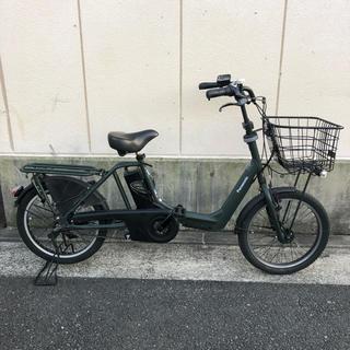 パナソニック(Panasonic)のパナソニック BE-ENMA03Gエコナビ ギュットアニー8.9Ah 電動自転車(自転車本体)
