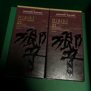 サントリー(サントリー)のサントリー 国産ウイスキー 響21年 HIBIKI  新品(ウイスキー)