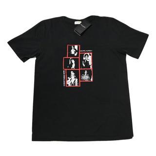 Saint Laurent - 2019SS    SAINT LAURENT フォトグラフTシャツ 黒