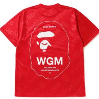 アベイシングエイプ(A BATHING APE)のBAPE WGM JERSEY TEE(Tシャツ/カットソー(半袖/袖なし))