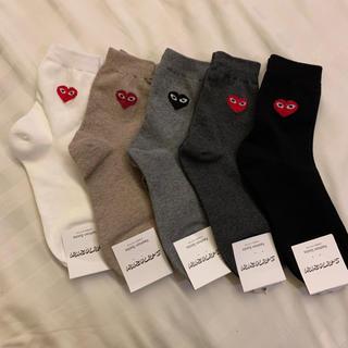 コムデギャルソン(COMME des GARCONS)の靴下 ギャルソン 色違い 5点セット 新品未使用(ソックス)