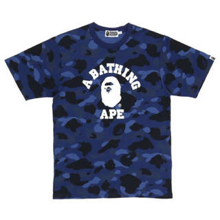 A BATHING APE - BAPE Color Camo College Tshirt