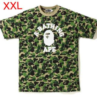 アベイシングエイプ(A BATHING APE)のBAPE ABC CAMO COLLEGE TSHIRT(Tシャツ/カットソー(半袖/袖なし))