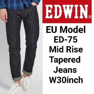 エドウィン(EDWIN)のヨーロッパ企画★ 濃紺 EDWIN ED-75 テーパード ジーンズ エドウィン(デニム/ジーンズ)