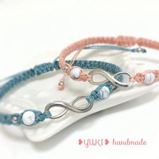 アンクレット or ブレスレット 天然石【ペアセット⑪】ハンドメイド