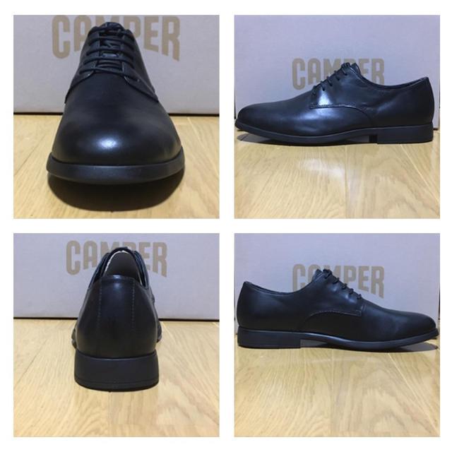 CAMPER(カンペール)の新品 カンペール 革靴 ブラック Camper Truman 42 メンズの靴/シューズ(ドレス/ビジネス)の商品写真