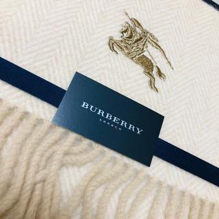 BURBERRY - 新品 バーバリー   膝掛け ウール