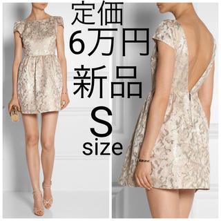アリスアンドオリビア(Alice+Olivia)の新品 alice+olivia メタリック ジャガード ワンピース ドレス(ミニワンピース)