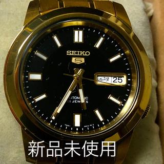 セイコー(SEIKO)のSEIKO5自動巻7s2638mm新品メーカー保証付IWCオメガロレックス未使用(腕時計(アナログ))
