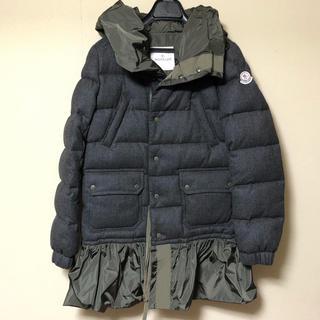 モンクレール(MONCLER)のモンクレール エス サカイ sacai ダウン ジャケット コート SARINA(ダウンジャケット)