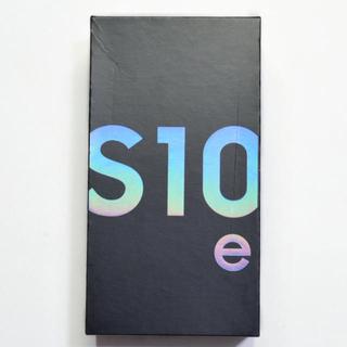 SAMSUNG - 【完全新品】北米版SIMフリー Galaxy S10e G970U ブルー③