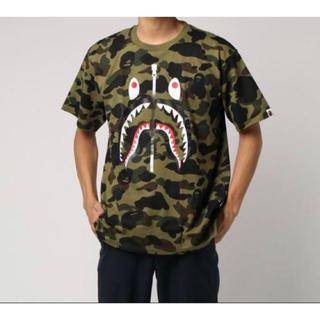 アベイシングエイプ(A BATHING APE)のBAPE 1ST CAMO SHARK TEE(Tシャツ/カットソー(半袖/袖なし))