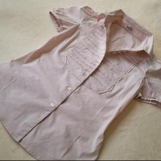 ミュウミュウ(miumiu)のストレッチミュウミュウシャツ(Tシャツ(半袖/袖なし))