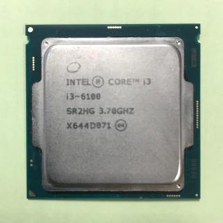 CPU Intel Core i3 6100 3.70GHz 動作品