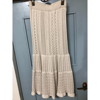 ニットマーメイドスカート(ロングスカート)