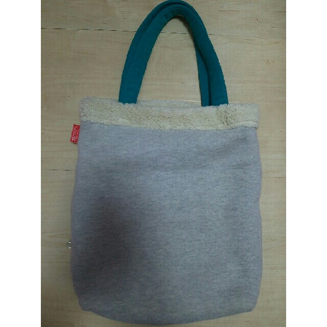 ROOTOTE(ルートート)のROOTOTE スヌーピー モコモコ トートバッグ グレー レディースのバッグ(トートバッグ)の商品写真