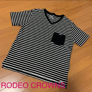 RODEO CROWNS - RODEO CROWNS ロデオクラウンズ ボーダー Tシャツ