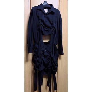 ヨウジヤマモト(Yohji Yamamoto)の今期 新品未使用 タグ付き yohjiyamamoto  ロングジャケット(ロングコート)