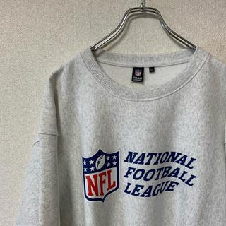 新品 タグ付き NFL スウェット ビッグシルエット XXL ホワイト(スウェット)
