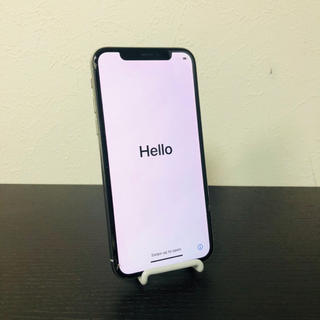 iPhone - iPhone x au版 256gb SIMフリー  画面ヒビあり i869