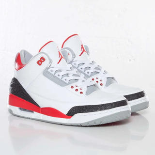 ナイキ(NIKE)のNIKE AIR JORDAN 3 Fire Red 2013 28.5cm(スニーカー)
