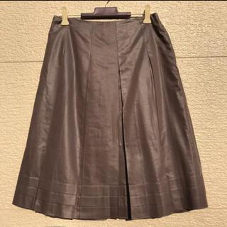 クミキョク(kumikyoku(組曲))のKUMIKYOKU 組曲 スカート グレー 2(ひざ丈スカート)
