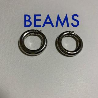 BEAMS - BEAMS フープイヤリング