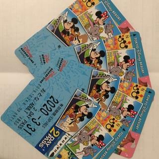 ディズニー(Disney)のディズニーリゾートライン 2day pass(鉄道乗車券)