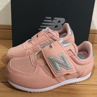 New Balance - ニューバランススニーカー ピンク16㎝