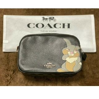 COACH - 【入手困難 正規品】COACH ディズニー コラボ とんすけ ショルダーバッグ