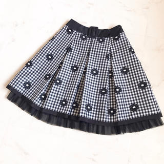 M'S GRACY - エムズグレイシー  お花スカート